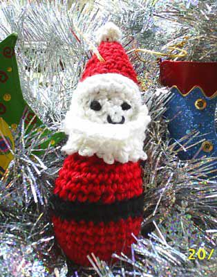 Father Christmas Crochet Pattern Pottage Publishing