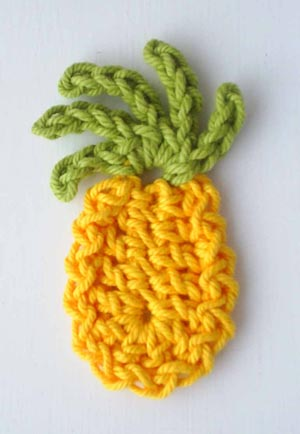 Crochet Patterns Pineapple : ... crochet patterns contact us pineapple fridge magnet crochet pattern